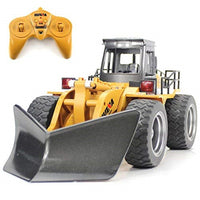 HuiNa Toys 1586 6 CH 1/18RC Metal Snow Sweeper Charging Tractor RC Truck Plow