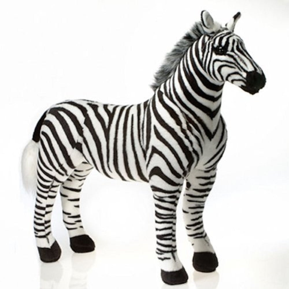 Fiesta Toys Standing Zebra 28.5'' Inches My Safari Horse Pet Zoo Animal Pillow