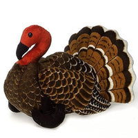 Fiesta Toys Brown Turkey 9'' Inches Thanksgiving My Bird Plush Pet Pillow