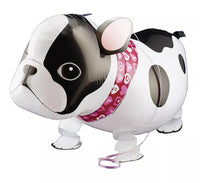 FRENCH BULLDOG WALKING BALLOON ANIMAL