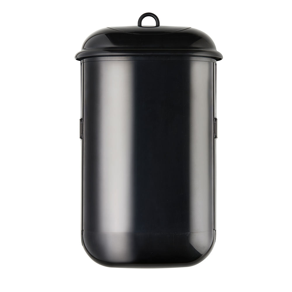Pod Petite, Sanitary Disposal Bin, Manual, Black