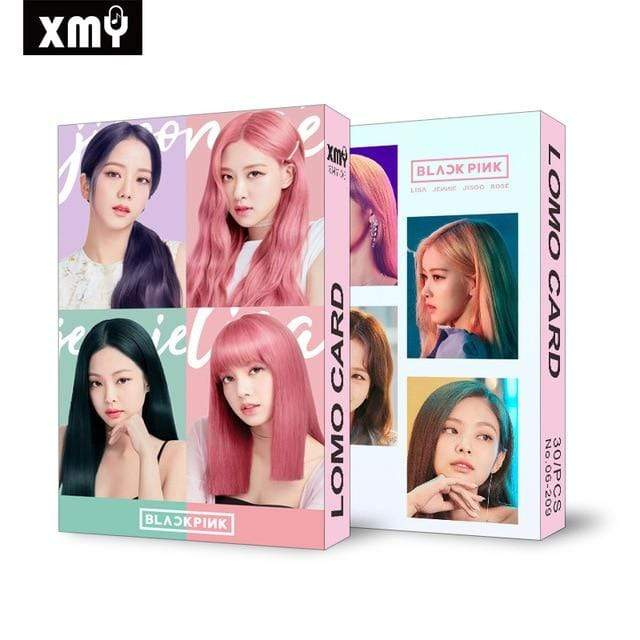 Blackpink Gift: Cards, Stickers Lomo Card Set | Box of 30