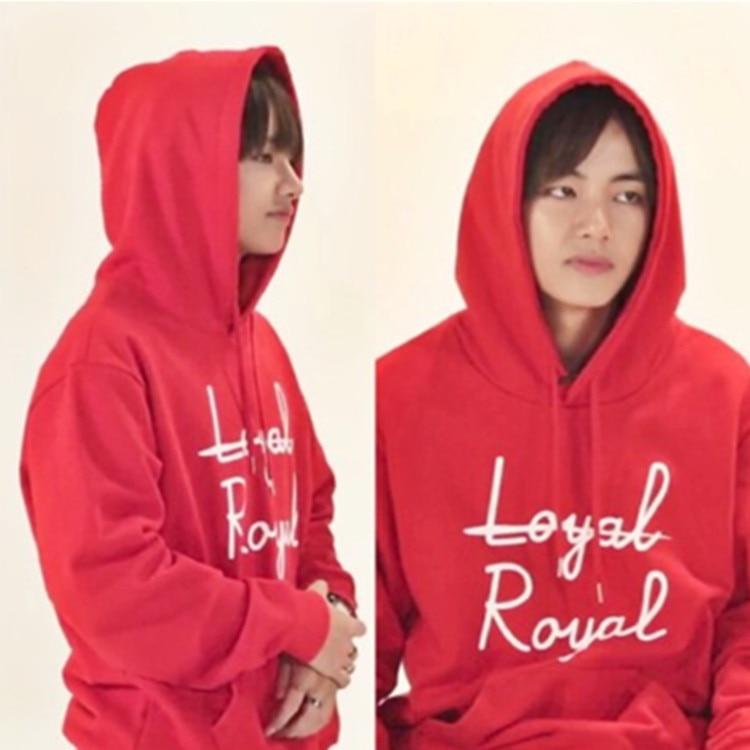 Celeb Style Apparel: Hoodies, Sweatshirts Dress Like V: Royal Hoodie