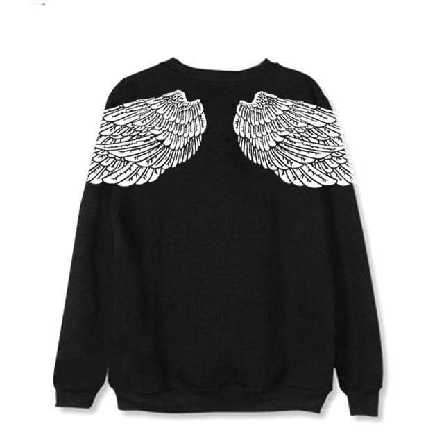 Celeb Style Apparel: Hoodies, Sweatshirts Dress Like V: Wings Sweatshirt