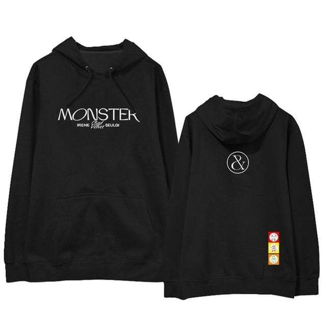 Red Velvet Apparel: Hoodies, Sweatshirts Irene Seulgi Monster Hoodie | Multiple Black / L