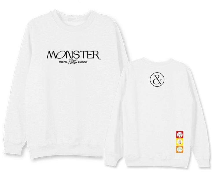 Red Velvet Apparel: Hoodies, Sweatshirts Irene Seulgi Monster Sweatshirt | Multiple