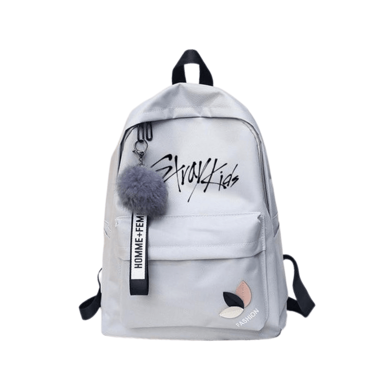 Stray Kids Accessories: Bags, Backpacks Canvas Logo Backpack