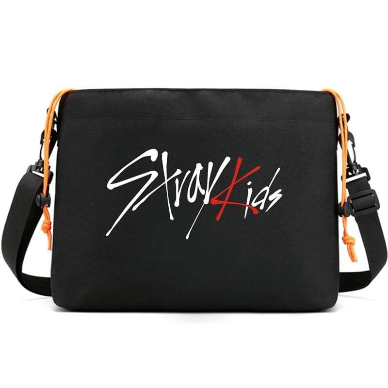 Stray Kids Accessories: Bags, Backpacks Logo Messenger Bag