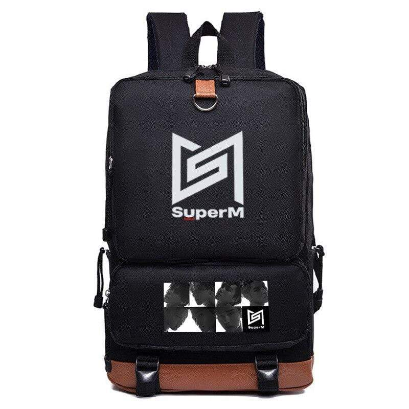 SuperM Accessories: Bags, Backpacks Logo Bias Backpack | Multiple