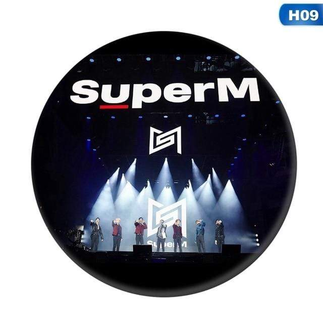SuperM Accessories: Other Group Member Pin Logo