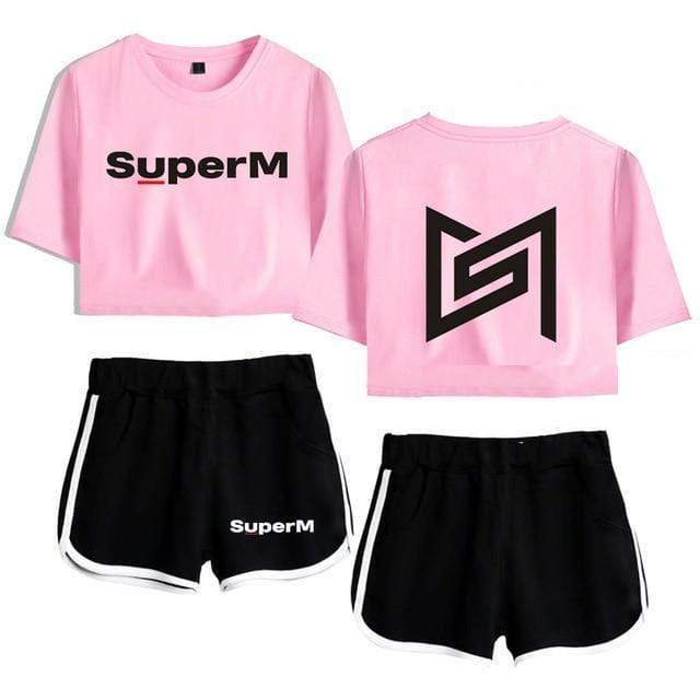 SuperM Apparel: Sets Two-Piece Set | Pink XL