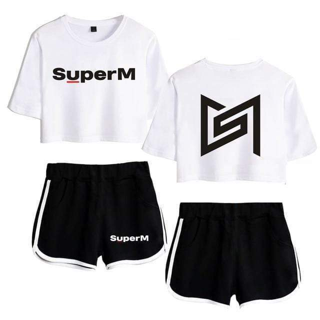 SuperM Apparel: Sets Two-Piece Set | White