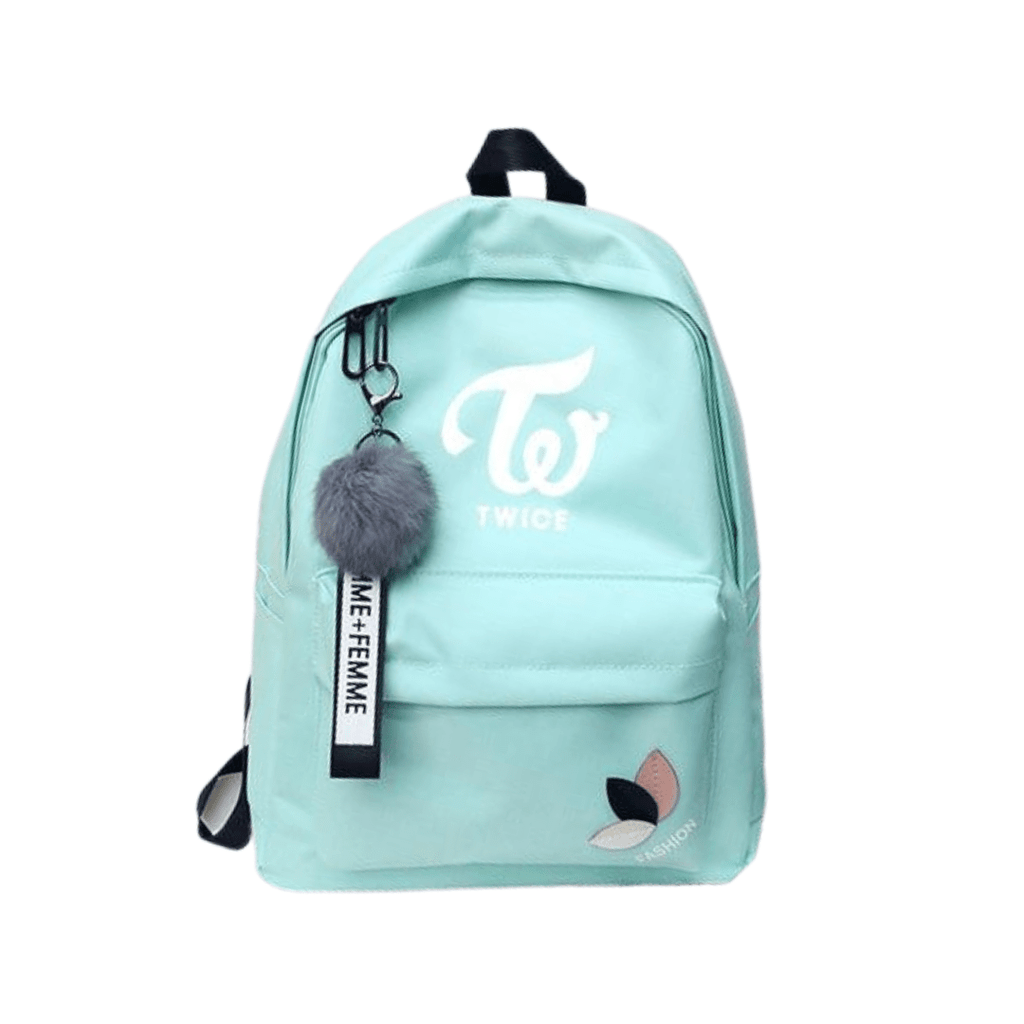 Twice Accessories: Bags, Backpacks Canvas Logo Backpack