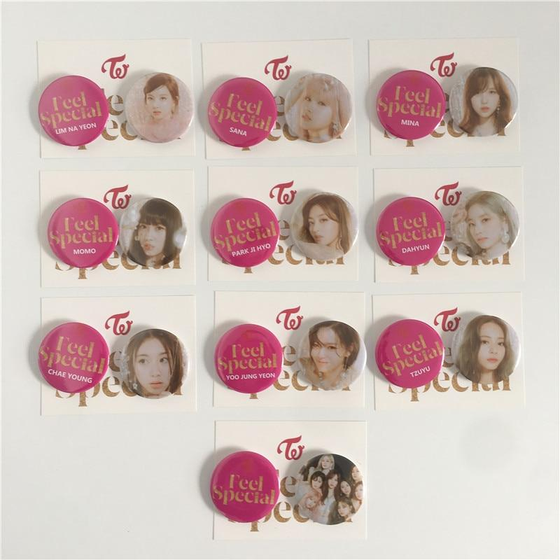 Twice Accessories: Other Feel Special Members Pin | Set of 2
