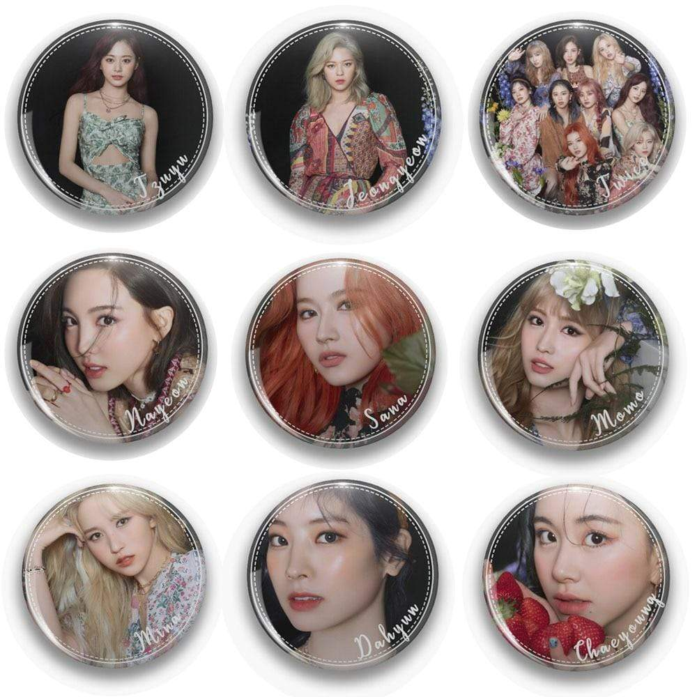 Twice Accessories: Other More and More Members Pin | Multiple