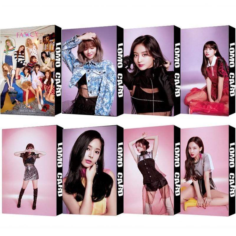 Twice Gift: Cards, Stickers Fancy Lomo Card Set | Box of 30
