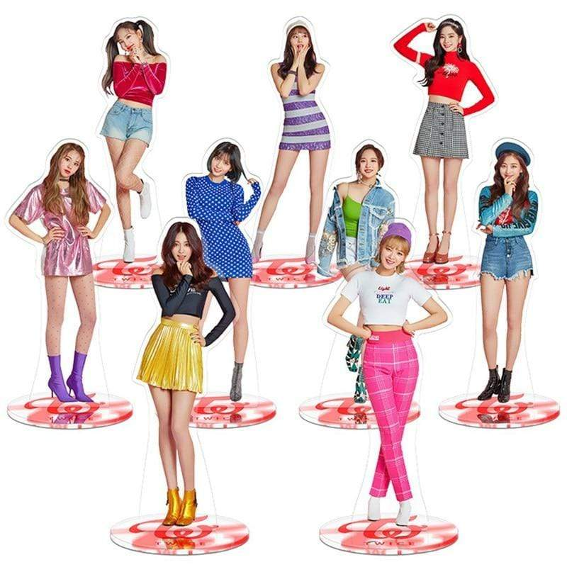Twice Gift: Toys, Figurines Acrylic Action Figure