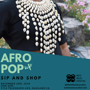 Afro Pop (up) Sip & Shop