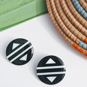 Ndebele Acrylic Earrings