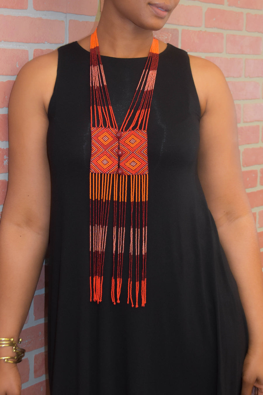 Zulu Scarf Necklace