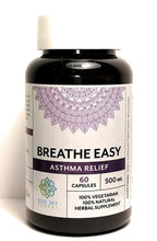 Breathe Easy - Asthma Relief Vegan Capsules to Promote Healthy Lungs and Clear Breathing