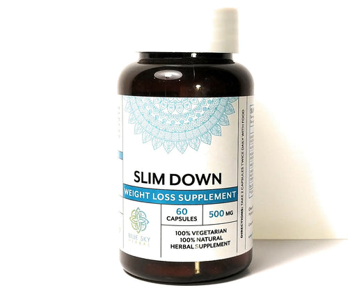 Slim Down - Weight Loss and Appetite Suppressant with Garcinia Cambogia to Burn Fat and Boost Metabolism