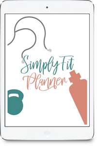 Simply Fit Planner TM (Digital PDF File)