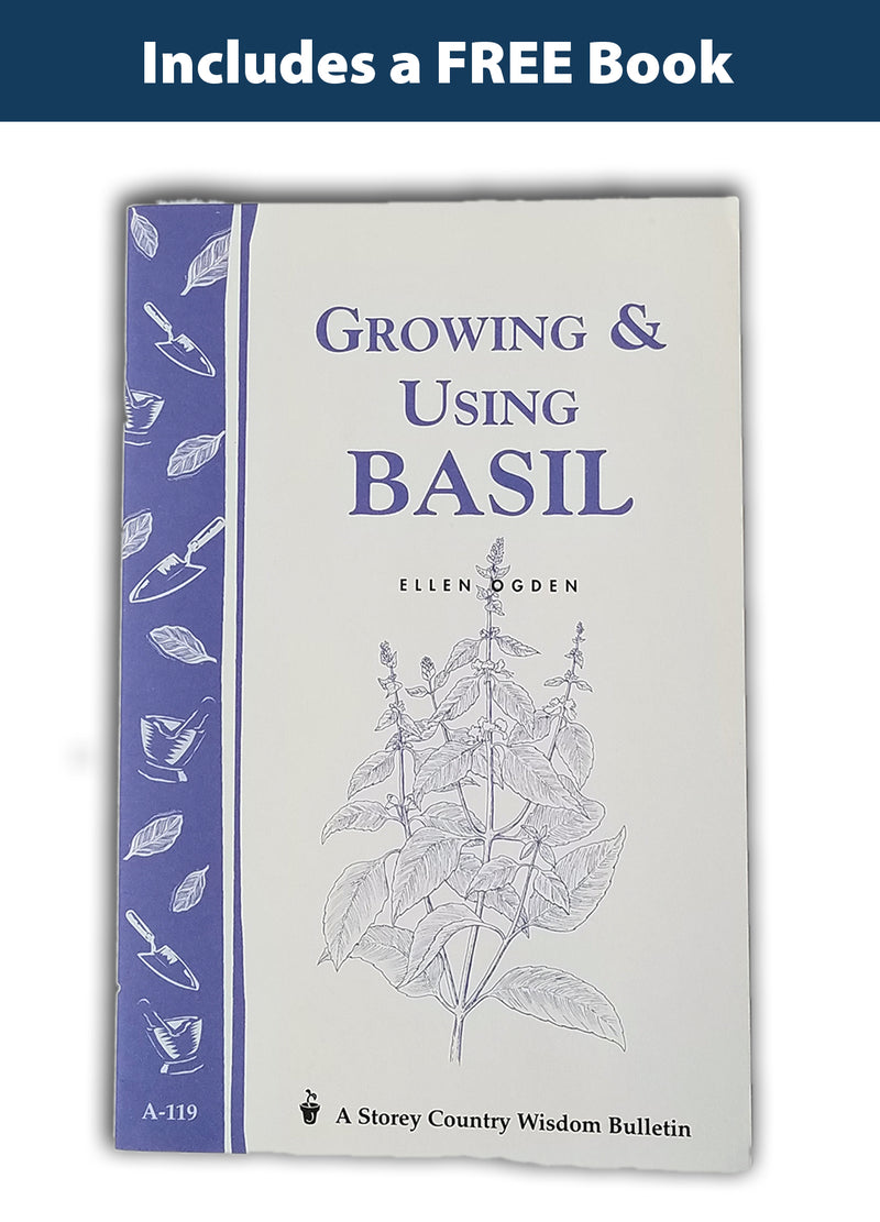 Basil Seed Collection - 5 Varieties