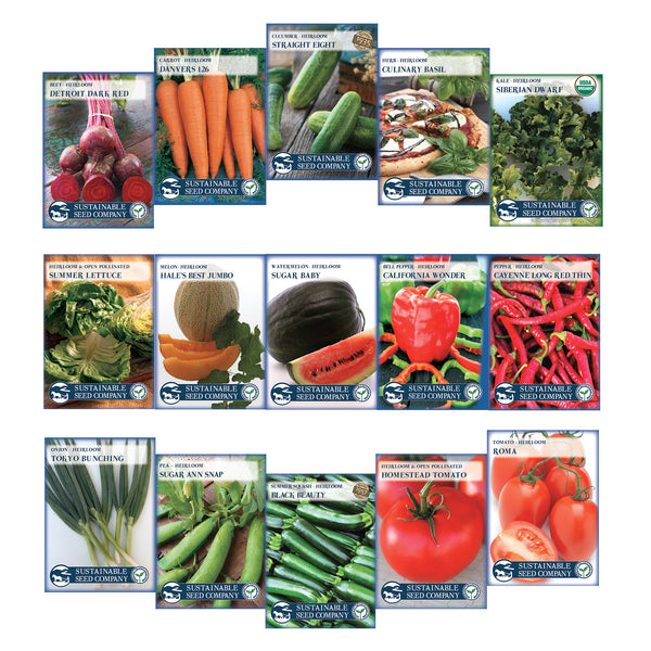 Instant Garden - Heirloom Vegetable Seed Collection