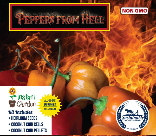 Peppers from Hell Seed Starter 6-Pack
