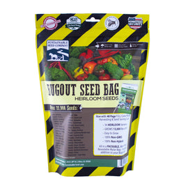 22,000 Non GMO Heirloom Vegetable Seeds, Emergency Seed Vault, BugOut Seed Bag™