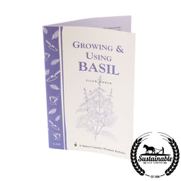 Growing & Using Basil Book