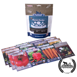 Market Garden Package - Heirloom Vegetable Seeds