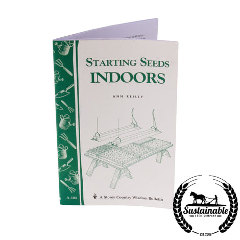 Starting Seeds Indoors Book