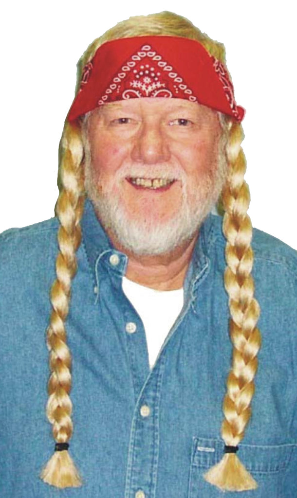 Halloween Costumes, Wig The Old Hippie, Wigs & Hair Costume
