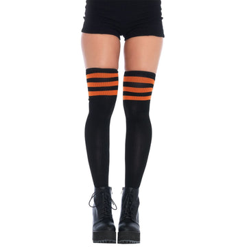 3 Stripes Athletic Ribbed Thig - Halloween costumes
