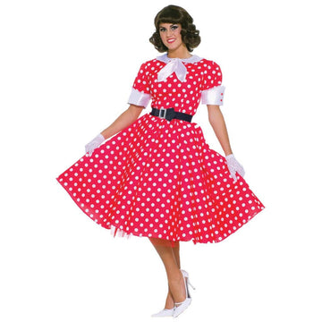 50s Housewife Adult Costume - 50s Costume adult halloween costumes female