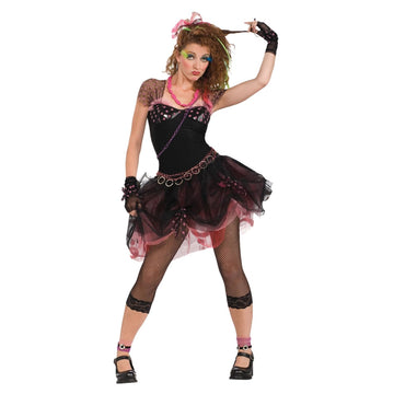 80s Diva Adult Costume - 80s Costume adult halloween costumes female Halloween