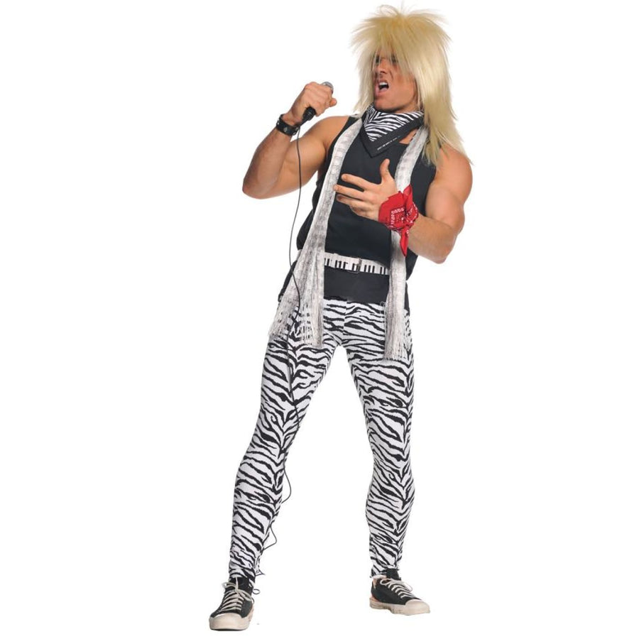 80s Rocker Mens Std - 80s Halloween Costume Halloween costumes male Halloween
