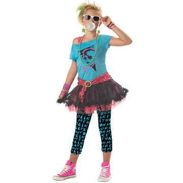 80s Valley Girl Kids Costume Medium 8-10 - 80s Costume Girls Costumes girls