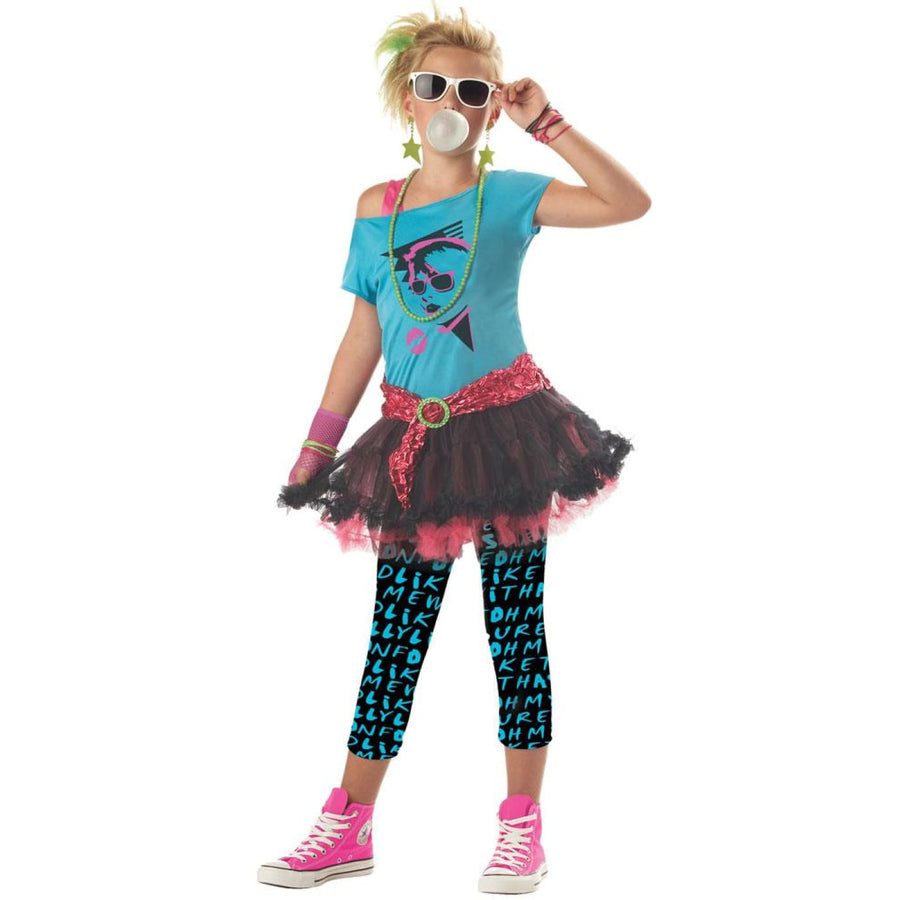 80s Valley Girl Kids Costume Small 6-8 - 80s Costume Girls Costumes girls