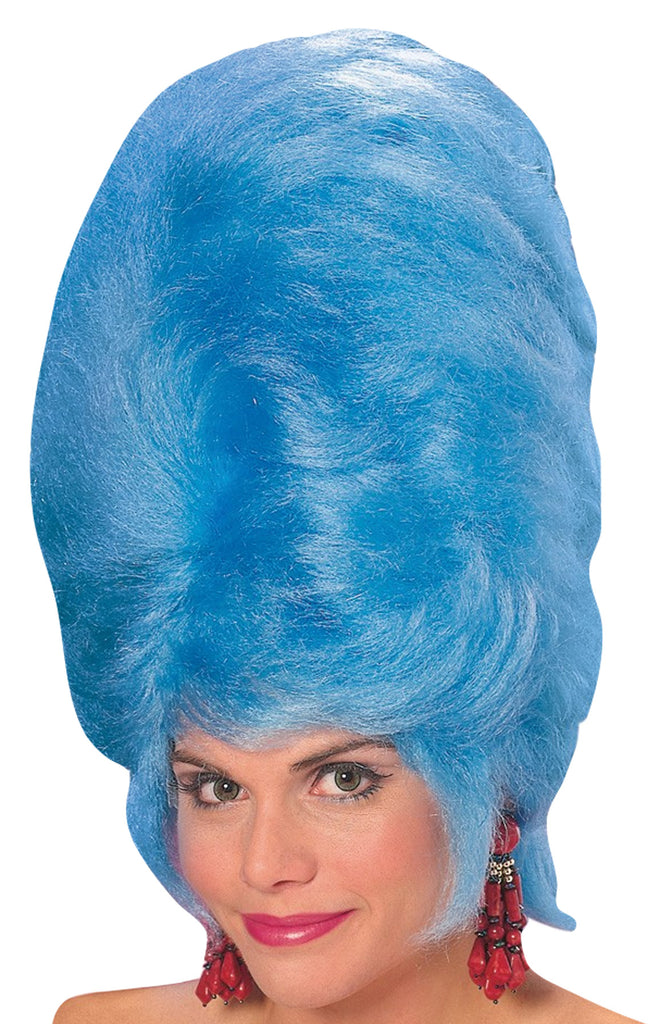 Beehive Wig Blue, Halloween Costumes, Holiday Costumes, The Simpsons Costume, white wig, Wigs & Hair Costume