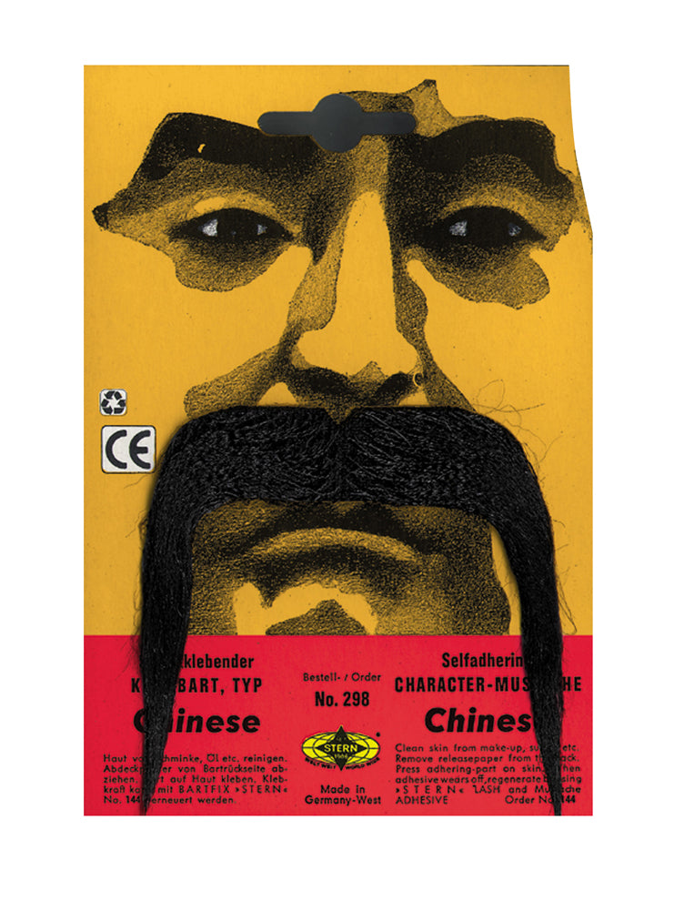 Mustache & Beards Costume, Mustache Chinese, Halloween Costumes