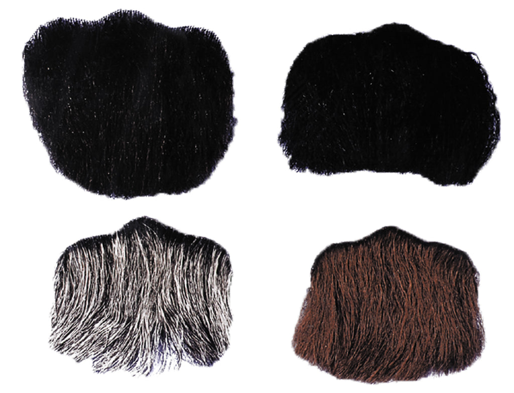 Goatee 3 Point Dark Brown, Halloween Costumes, Mustache & Beards Costume