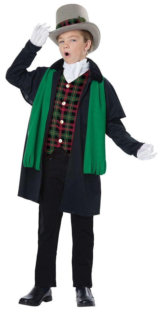Holiday Caroler Boys Costume Md