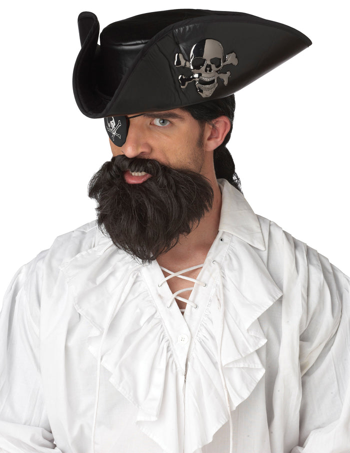 Captain Beard & Moustache, Halloween Costumes, Mustache & Beards Costume, Pirate Costume