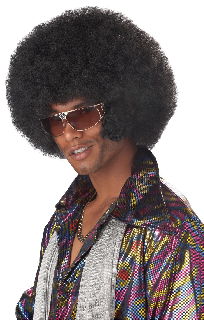 60's - 70's Costume, Afro & Chops Black, Halloween Costumes, Wigs & Hair Costume