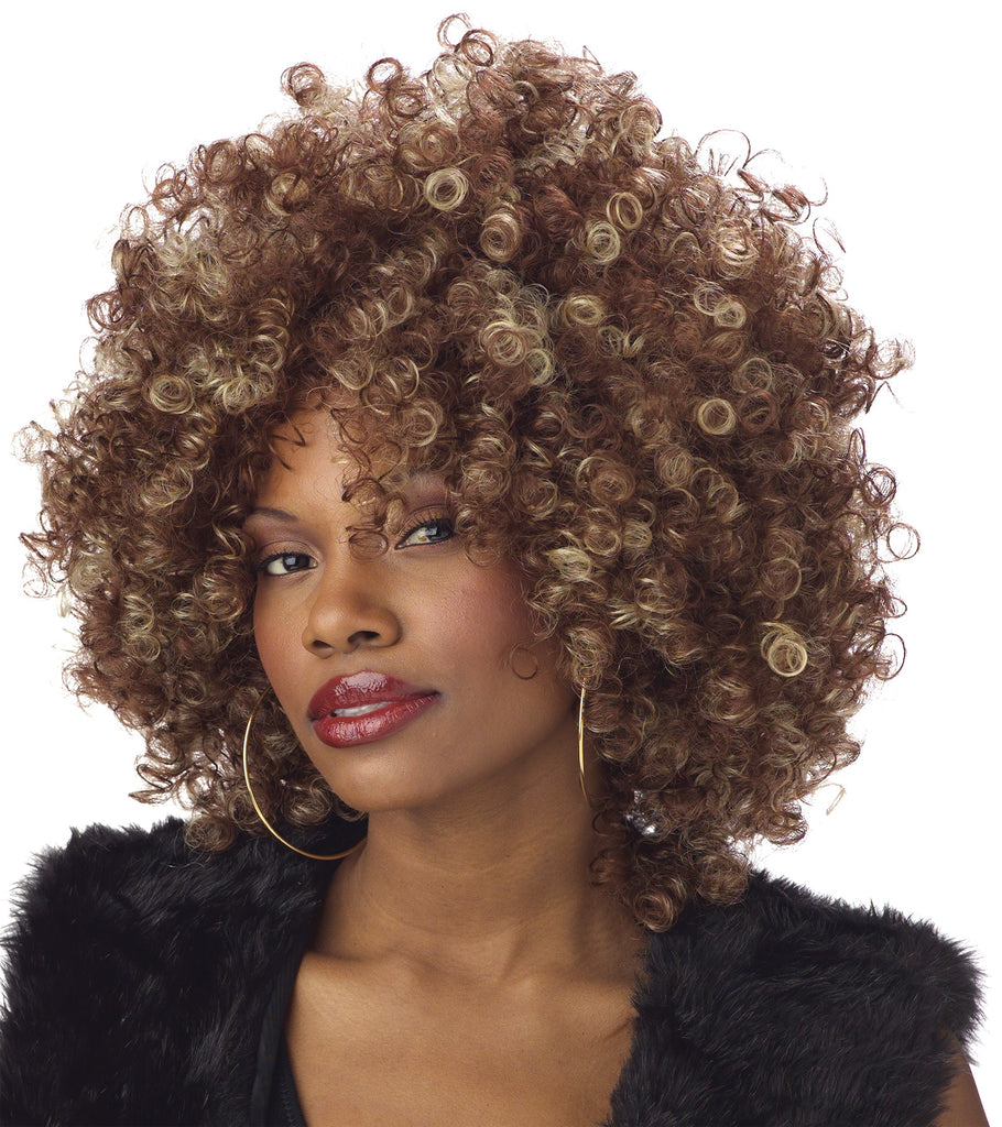 60's - 70's Costume, Halloween Costumes, Mama Fine Foxy Adult Wig, Wigs & Hair Costume
