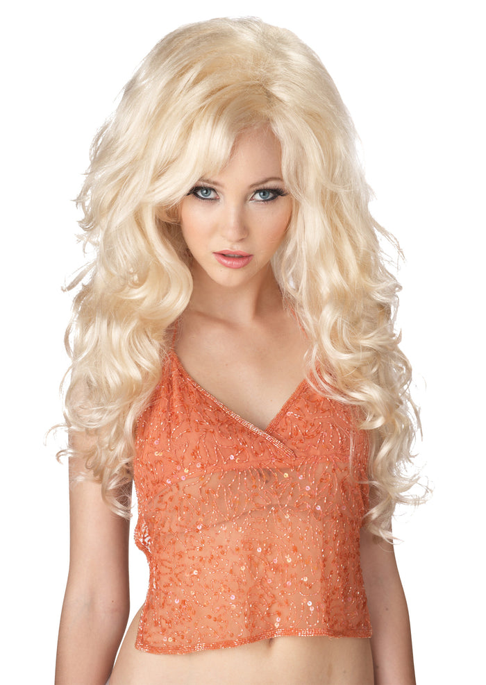 Bombshell Blonde Adult Wig, Halloween Costumes, Wigs & Hair Costume