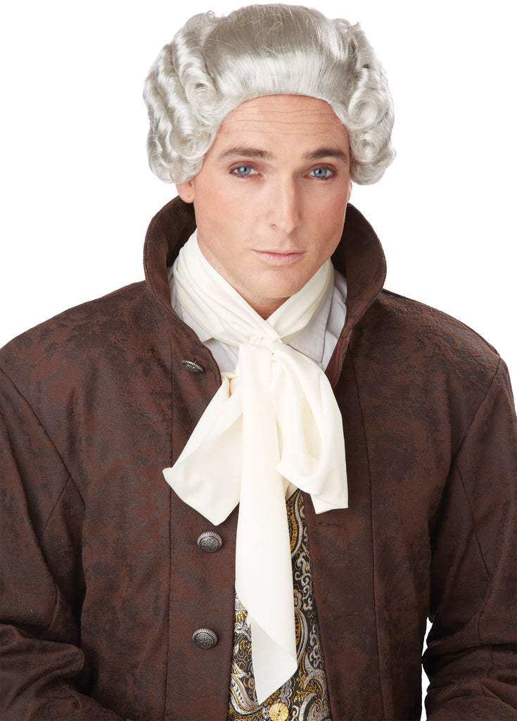 18Th Century Peruke Grey Adult Wig, Halloween Costumes, Historical Costume, Wigs & Hair Costume